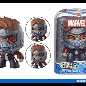 MARVEL Mighty Muggs Star-Lord #14 Play Figure OS